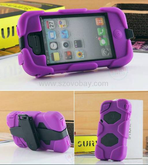 Griffin survivor orignal quality for iphone4s with retails packge and clips