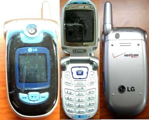 CDMA 850/1900Mhz Handsets