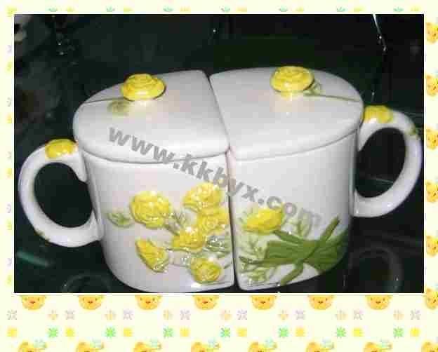 latte changing mug/printing ceramic mug
