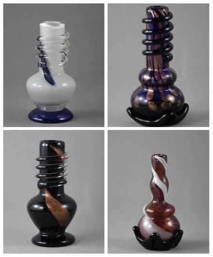 """5 """" glass smoking pipe/bong"""