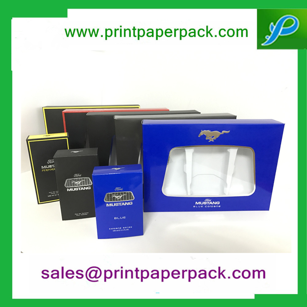Custom Cosmetic / Mustang Perfume Packaging Box with Logo Printing