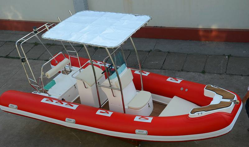 520cm rigid inplatable boat RIB520 yacht tender