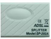 Sell ADSL Splitter,ADSL Filter,Telephone Splitter,ADSL pots splitter,ADSL modem splitter