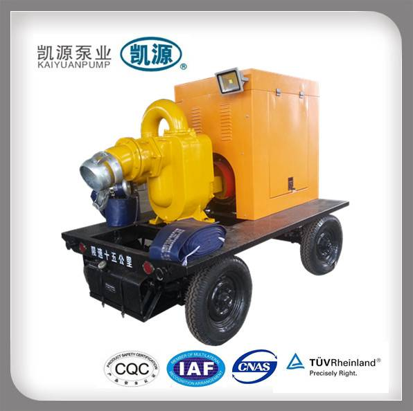 KYBC Kaiyuan Diesel Engine Driven Self Priming Portable Diesel Water Pump