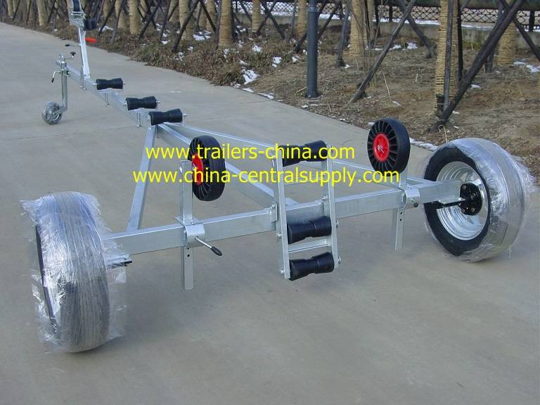 New-style single axle Boat trailer