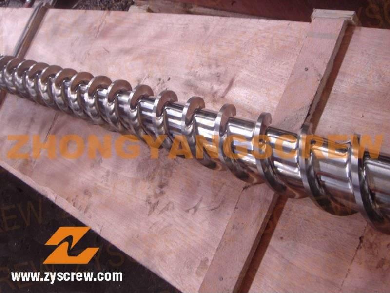 Manufacturing 38CrMoAlA Cold-Feed Rubber Machine Screw&Barrel