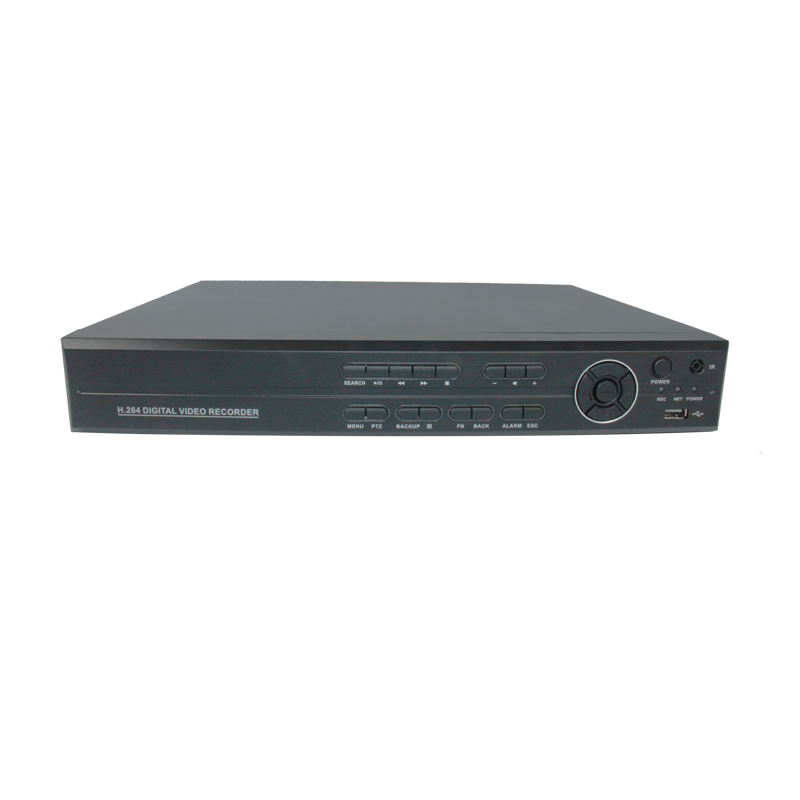 8ch 1080P AHD DVR H.264 cloud P2P HDMI ouput onvif support 2 hdd