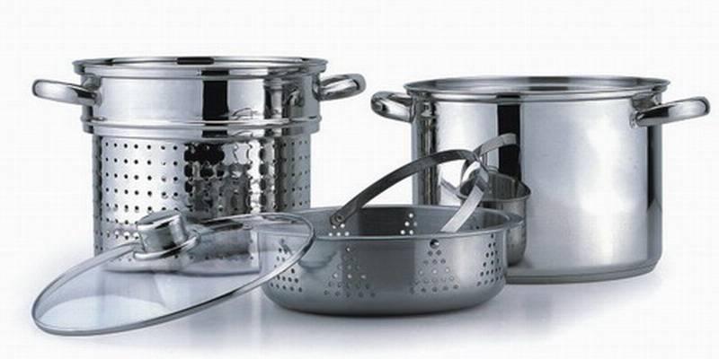 stainless steel pasta pot