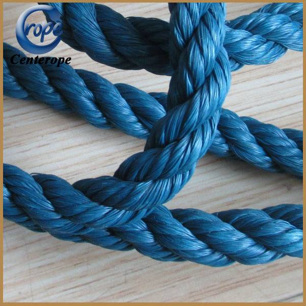 Twisted package rope 3strands pp rope