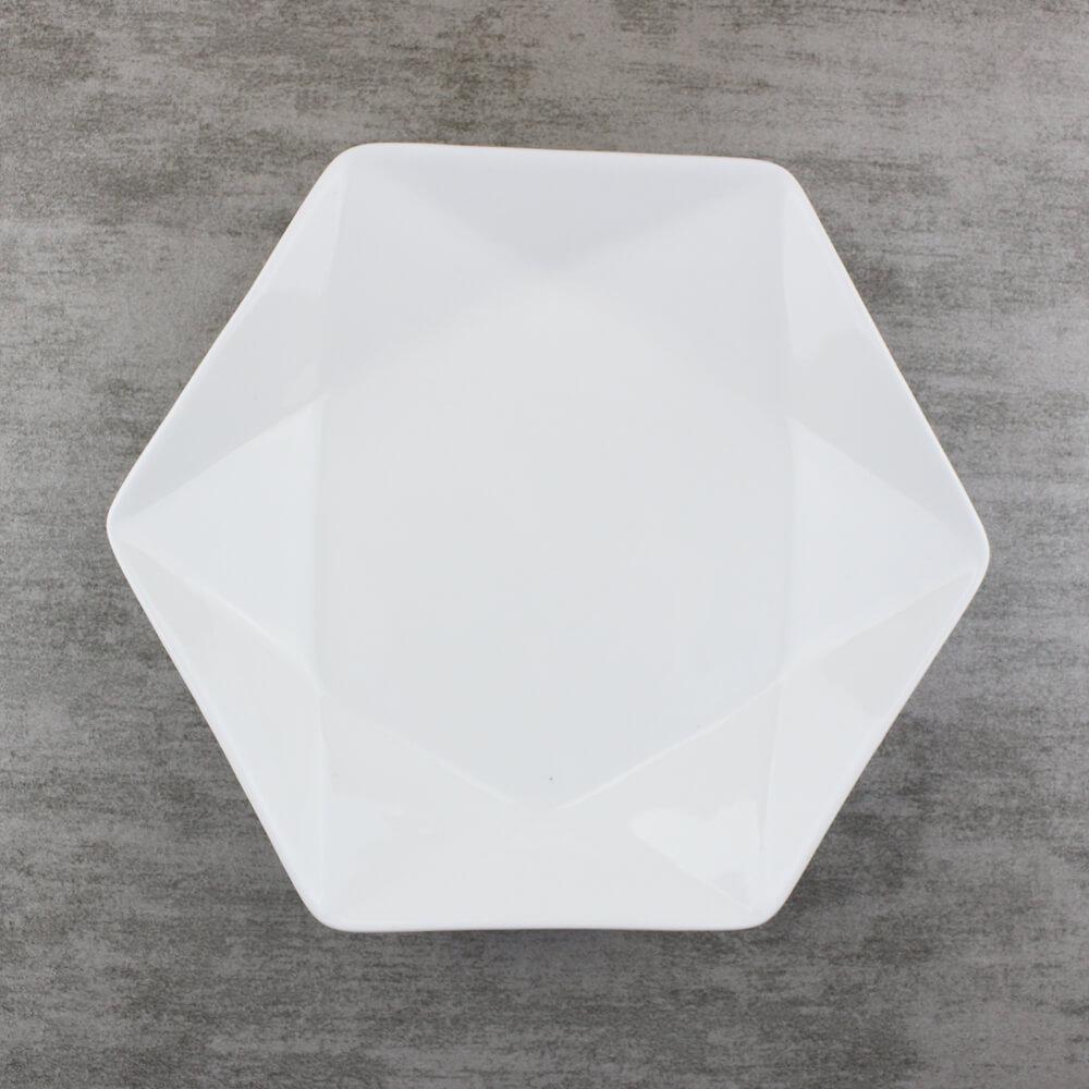 8 inch Hexagonal Plates