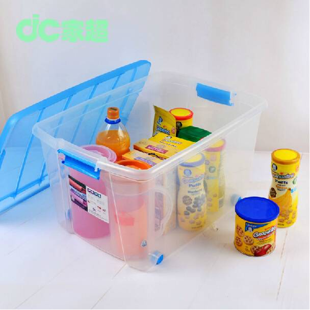 pp strong plastic storage box for storing clothes/book arrangement