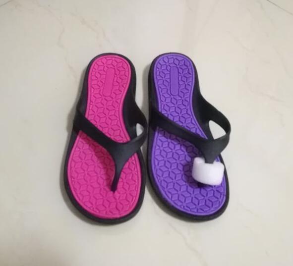 2018 cheap wholesale flip flops Simple design pvc woman slipper for sale