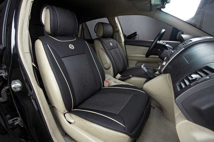 Fashion leather car seat cover universal design