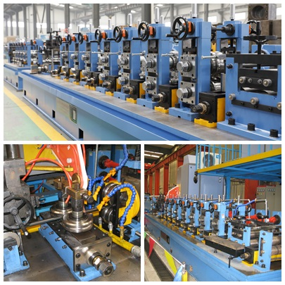 stainless steel SS pipe making machine