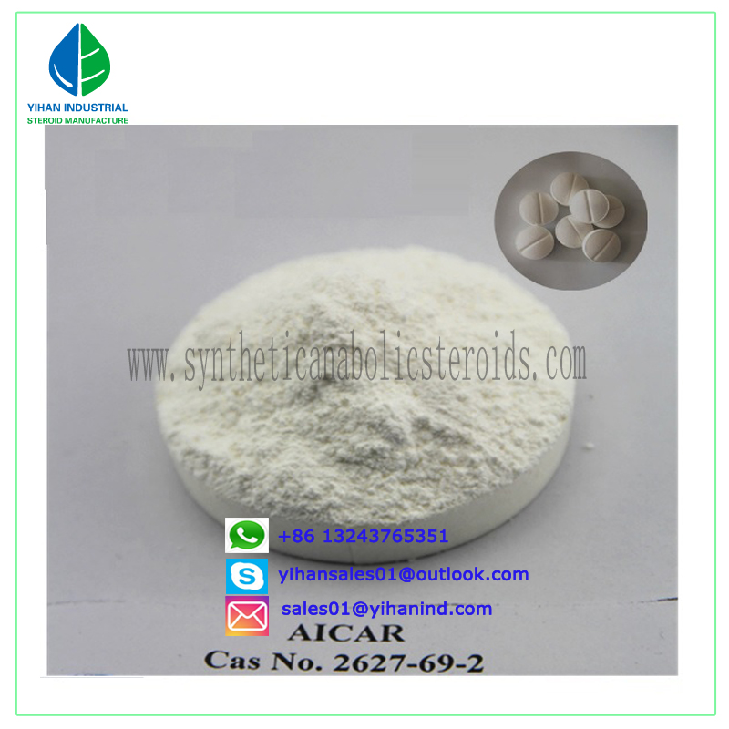 99% Raw Material Sarms Steroid Powder Aicar Acadesine CAS 2627-69-2 Judy