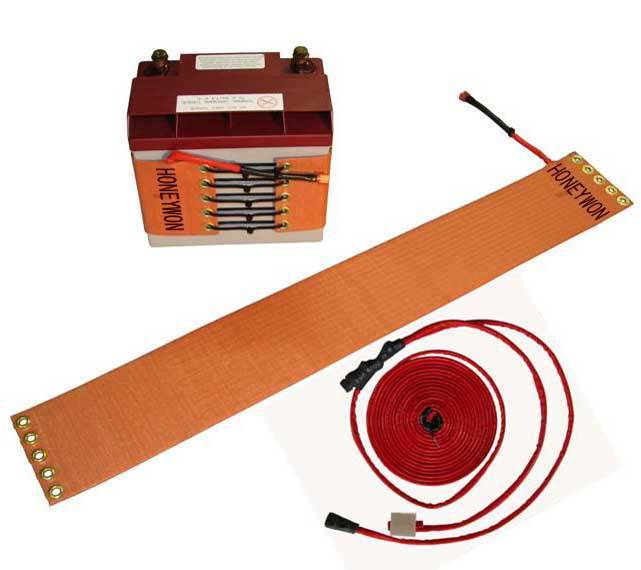 battery heating strip