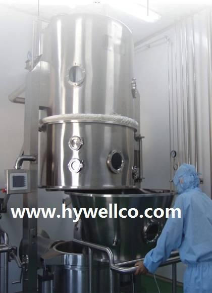 Pharmacy Fluidized Bed Granulator Dryer