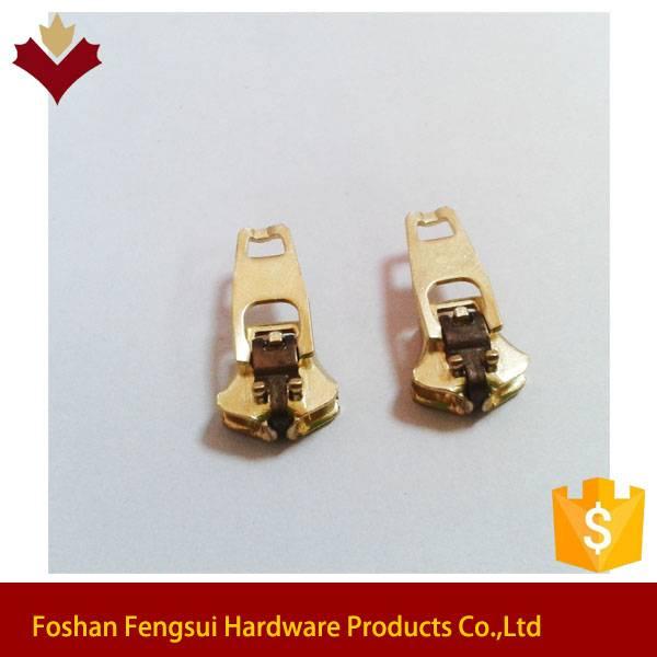 4yg Metal customized logo zipper for slider pulls