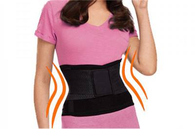 Hotsale Black Nylon Body Shaper Belt