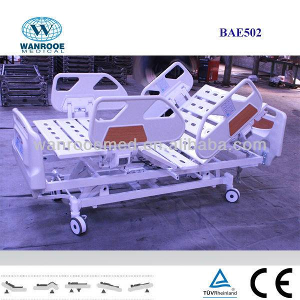 BAE502 CPR&Battery Electric Hospital Bed