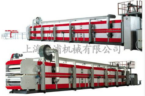 Heat insulation sandwich panel production line