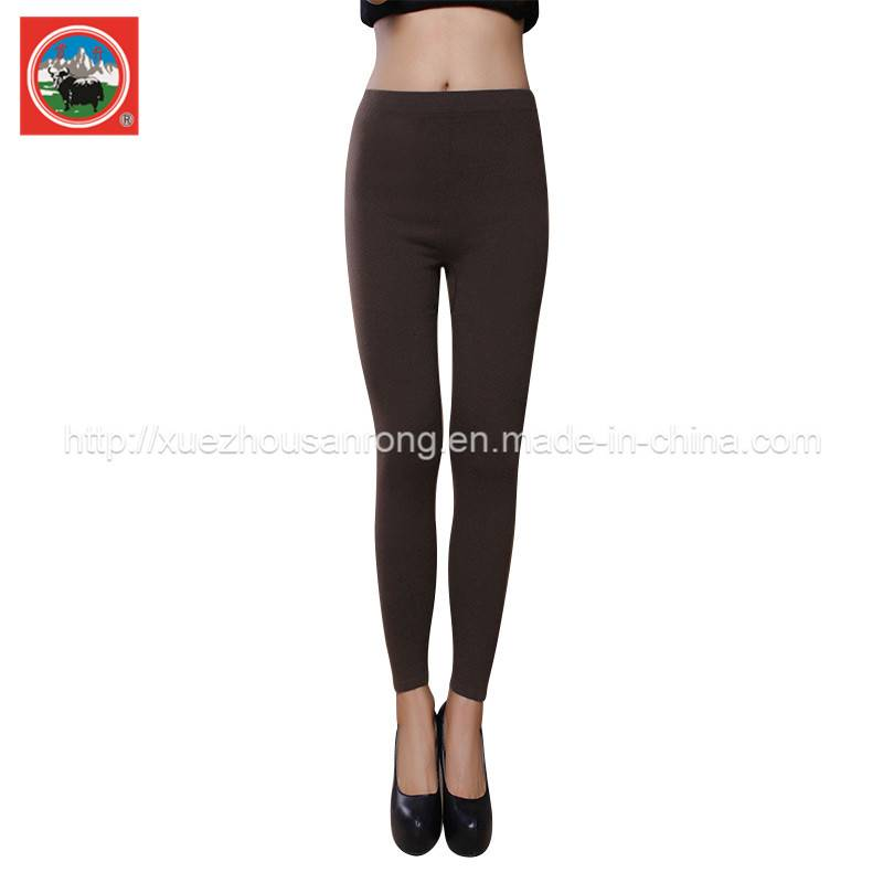 Ladies' knitted yak wool/ cashmere pants