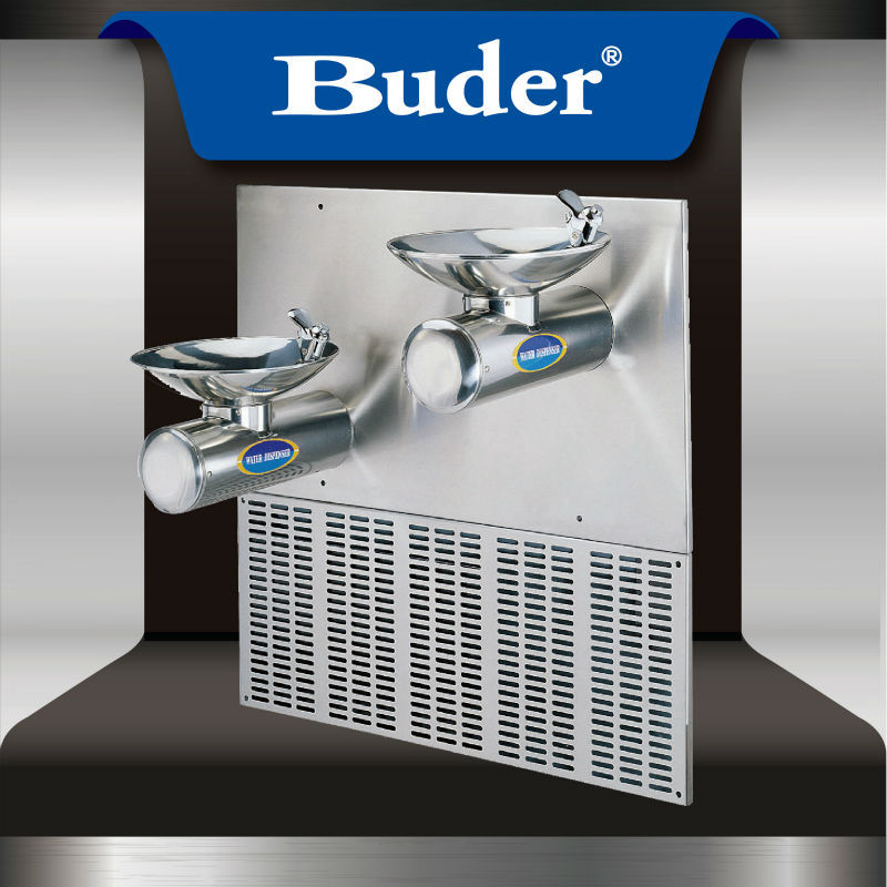[ Taiwan Buder ] Useful stainless steel wall hangings drinking fountain