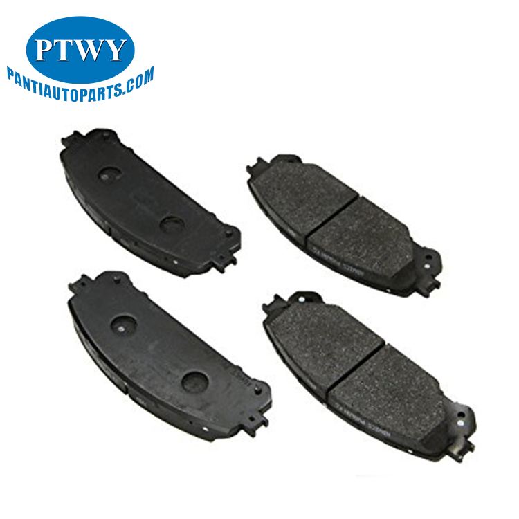 High quality front brake pads for lexus auto parts OEM 04465-0E010