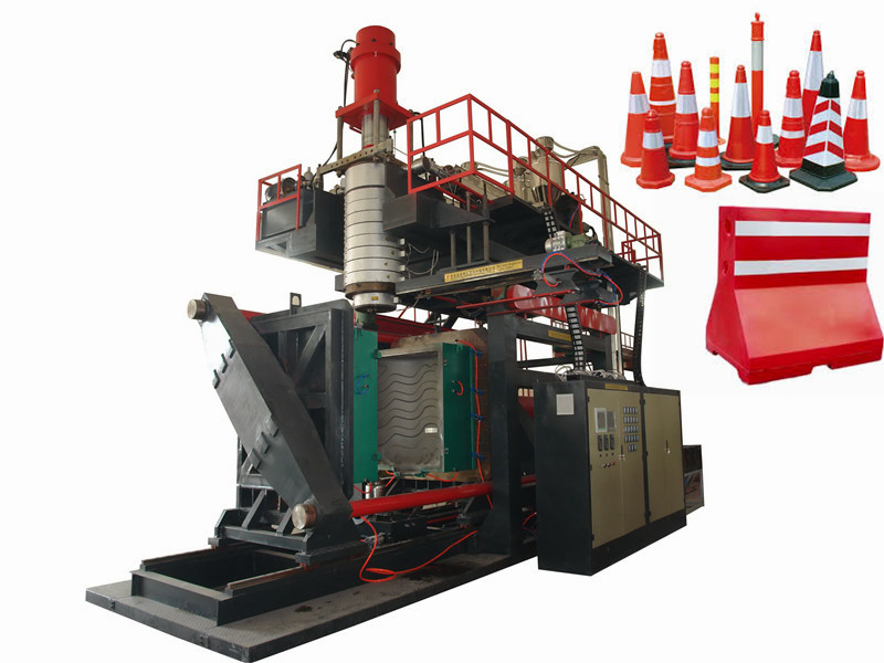 plastic barried blowing machinery