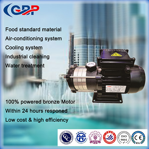 G-HLF(T) horizontal multistage centrifugal pump12-10