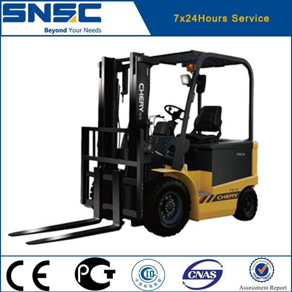 new produced china battery forklift 2t