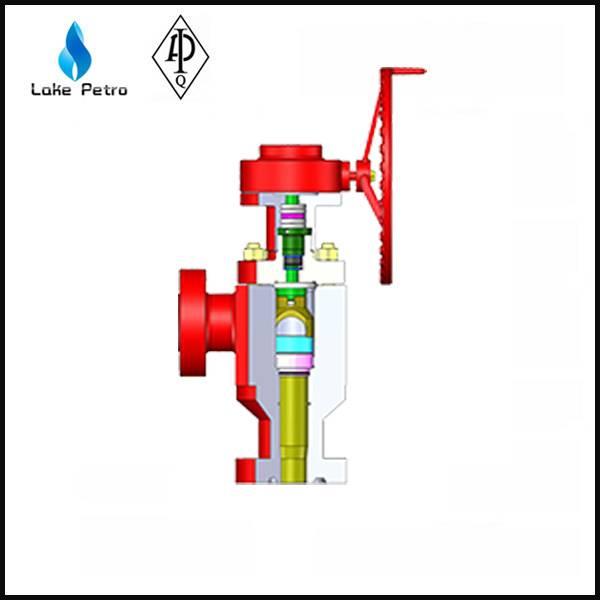 LAKE API 6A Orifice type Choke Valve In Oilfield