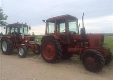 Used farm tractors MTZ-Belarus from 5 000 USD