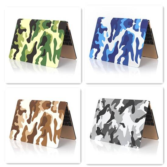 Camo Pattern Rubberized Protector for Macbook (all the sizes)