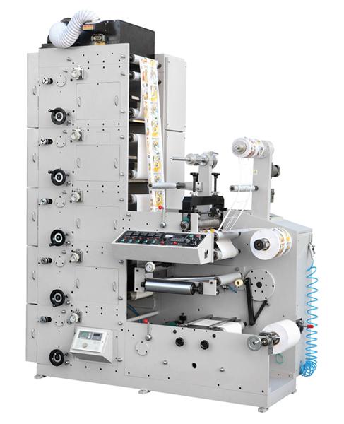 RY-320 Adhesive Label Flexo Printing Machine