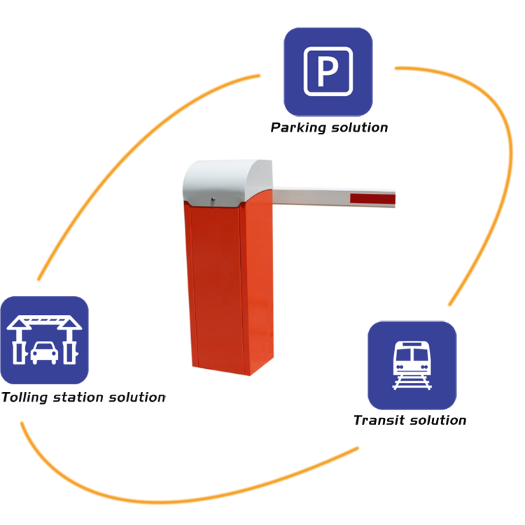 Parking Barrier Automatic Road Safety Barrier Gate for Parking Lots with High Traffic Flow
