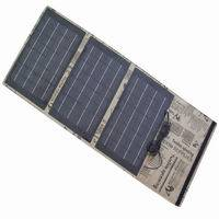 30W Folding Solar Panel Charger Bag for Laptop, Mobile Phone, Car
