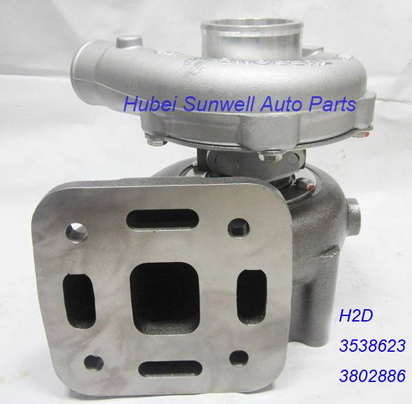 Holset H2D turbocharger 3538623 Cummins 6CTA marine engine turbo 3802886