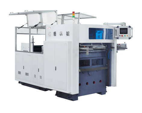 MR-930 Automatic roll paper feeding die cutting machine for paper cup with wooden mould