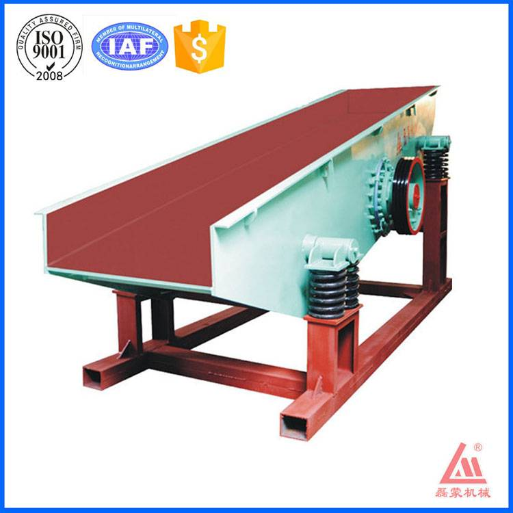 80-200 TPH mining feeder machine with 11 kw electric power