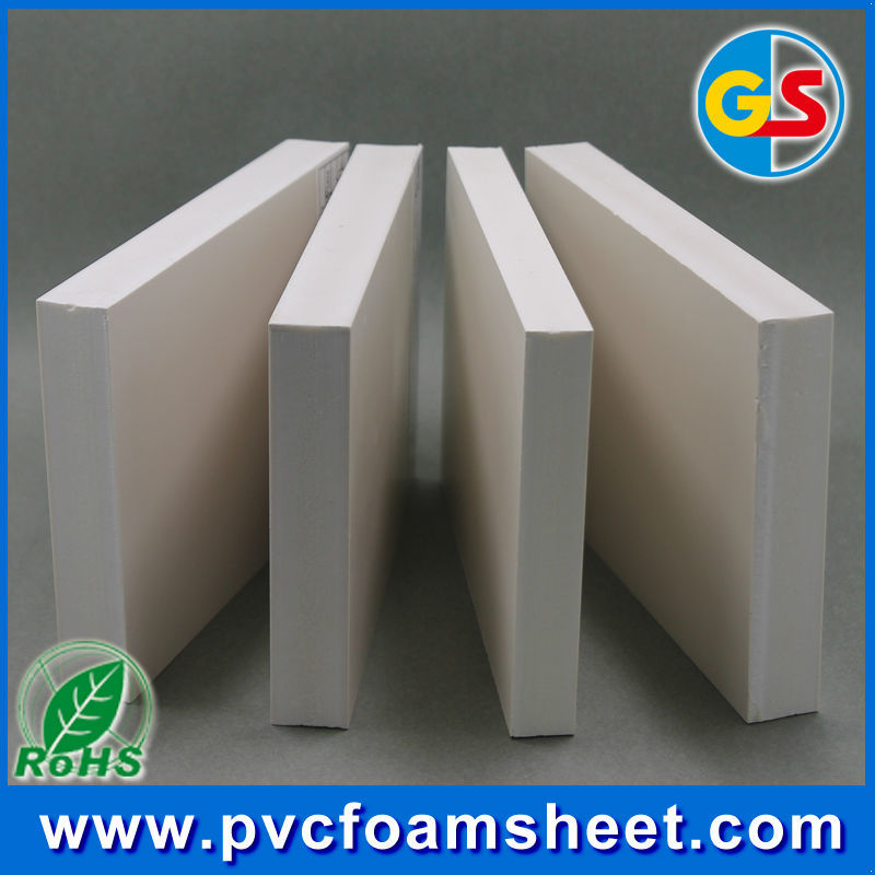 4x8 ft pvc foam sheet/ panel plastic for construction and building