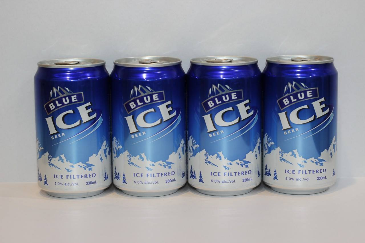 BLUE ICE 330ML CAN