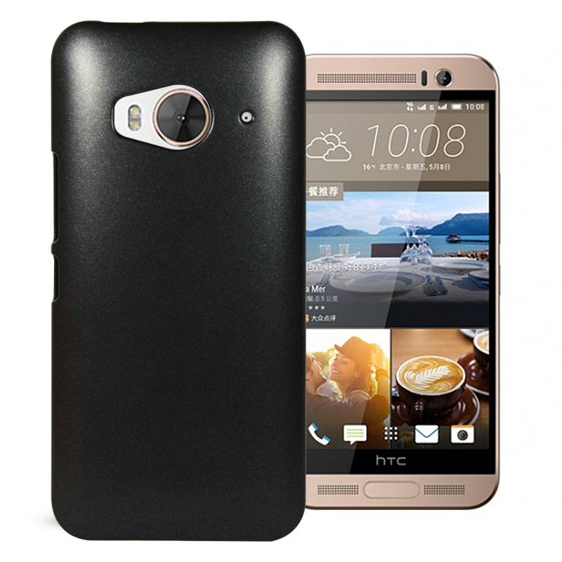 China Supply Cheap Price Top Quality Metallic Paint Coated Mobile Phone Cases for HTC One ME