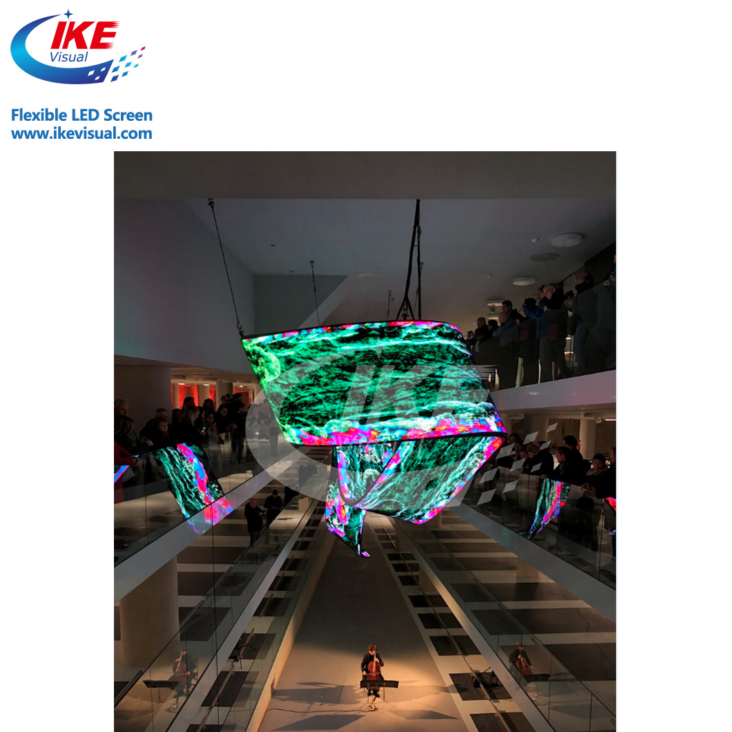 Indoor Curving Video LED Display Screen/ Light Weight LED Video