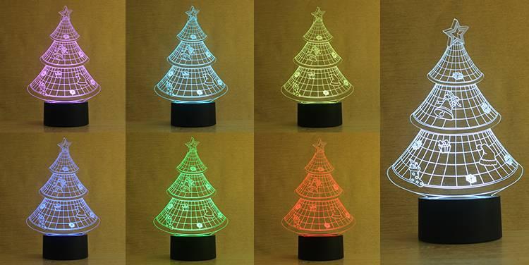 NL7 3D kids gifts mini night light