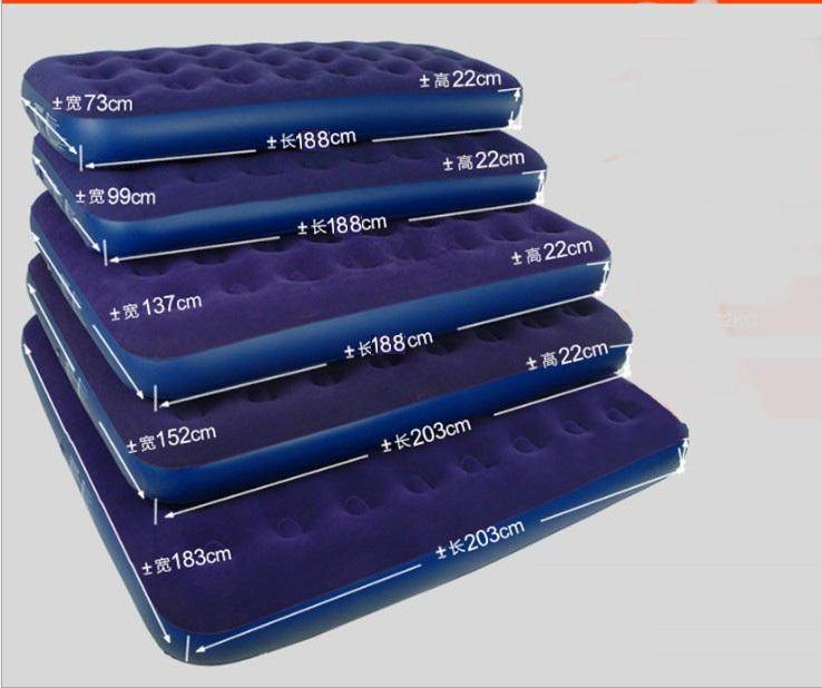 air mattress, flock air mattress, air bed, flock airbed