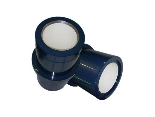 Mud pump ceramic tuber liner
