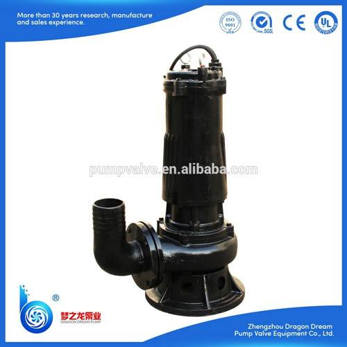 WQ series non-clogging sewage sludge  pump