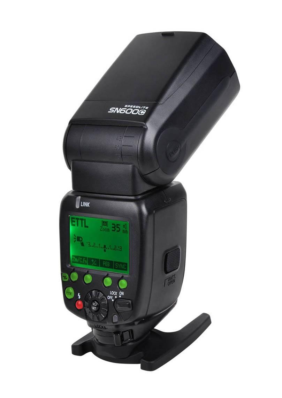 Shanny Sn600c on-Camera Speedlite, Flashgun, Flash for Can@N, Ettl/M/Multi, High-Speed Sync1/8000s