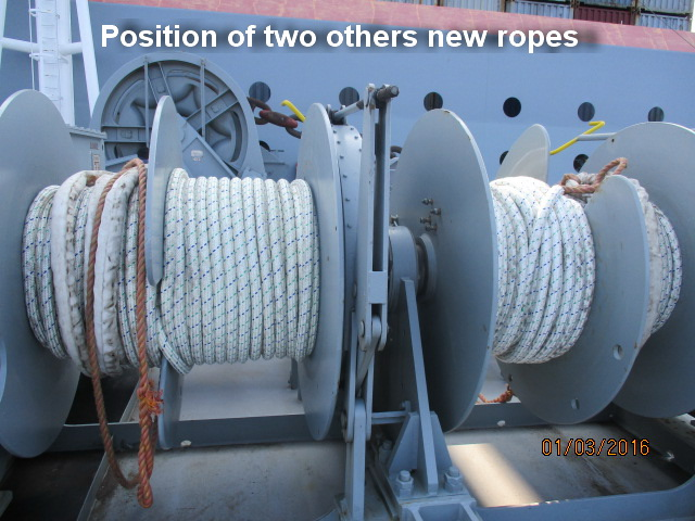 PP Mooring rope for ship